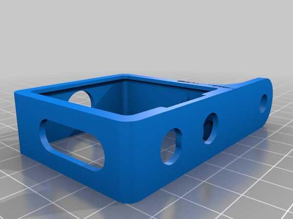 Tüm Baskılı Insta360 One R - Rode Kablosuz Go - Görünmez Montaj Kafesi Plastik Aparat