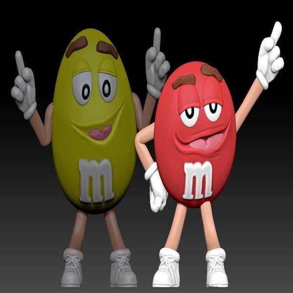 M & M İn Rouge Plastik Aparat