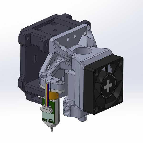 Blv Mgn Cube - Sivrisinek + Bltouch Plastik Aparat