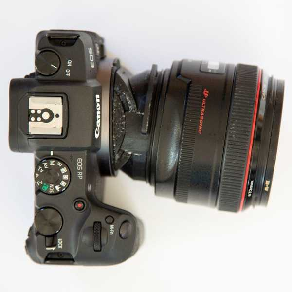 Canon Rf Canon Ef Tilt Adaptörü Plastik Aparat