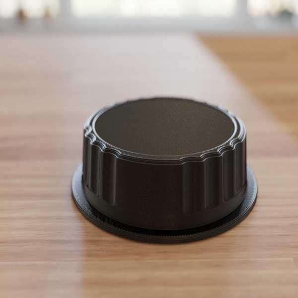 Canon Ef İçin Arka Lens Kapağı Plastik Aparat