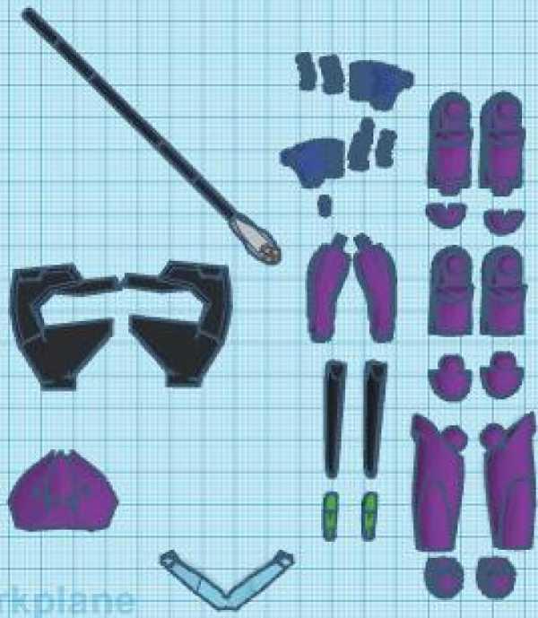 Toptan Özel Eva Ünitesi Parçaları Plastik Aparat
