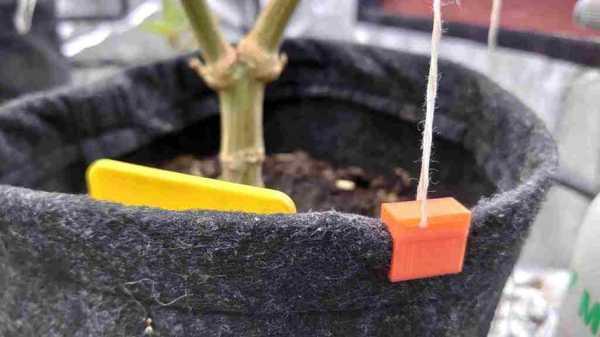 Fabrika Smartpots İçin Klipler, Lst İçin Bir Delikli Plastik Aparat