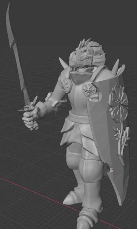 Dragonborn Fighter Klan Prexijandilin Plastik Aparat