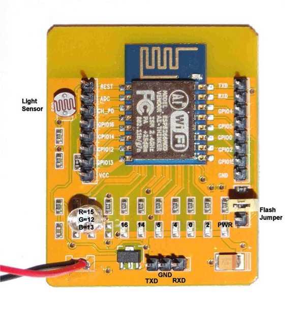 ESP8266 AI-Thinker İnce Kapaklı Kutu Organik Plastikten  Aparat