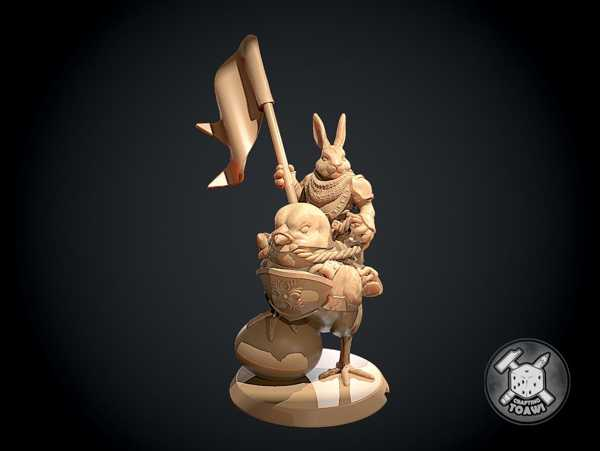 Paskalya Tavşanı Tavuk Binici Plastik Aparat