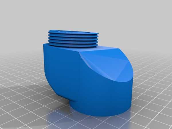 Hotas Joystick Uzatma Warthog / Virpil Uyumlu (5 Derece Açı) Plastik Aparat