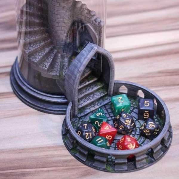 Yine Bir Başka (Değiştirilmiş) Zar Kulesi Tabanı Ve Tepsi Plastik Aparat