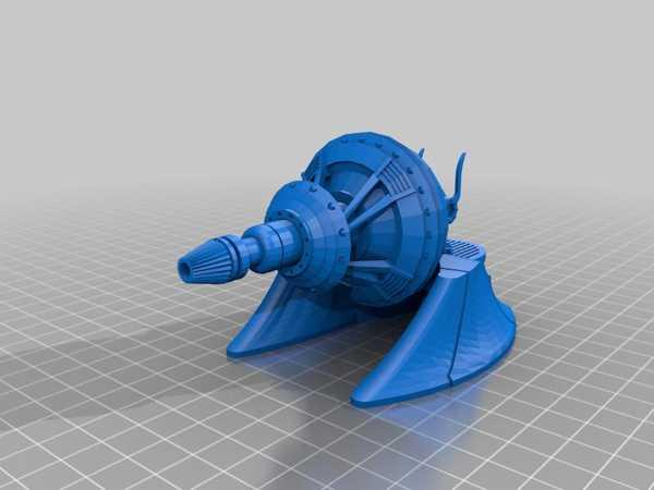 Toptan Geonosian Sonic Cannon Taret (Star Wars: Legion) Plastik Aparat