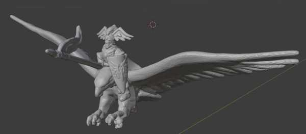 Giant Eagle Da Warmaster Yüksek Elf Kahraman Plastik Aparat