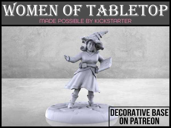 Gnome Sihirbazı - Masa Çalışması Minyatür Plastik Aparat