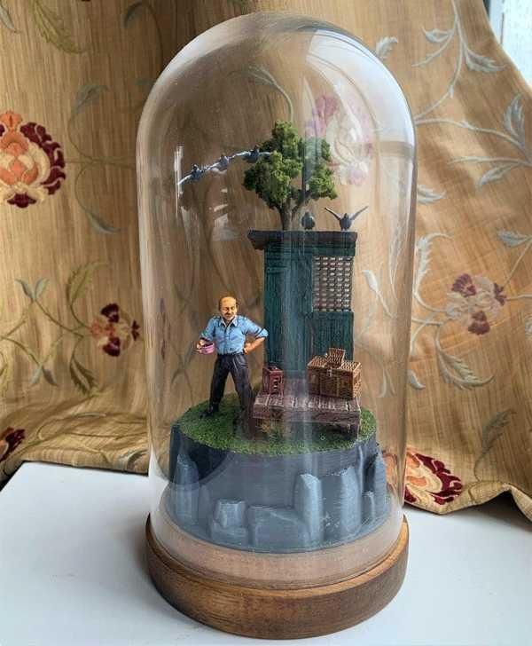 Güvercin Yarışı Diorama - 32Mm - Babam, Kahramanım 1980 Ler Plastik Aparat