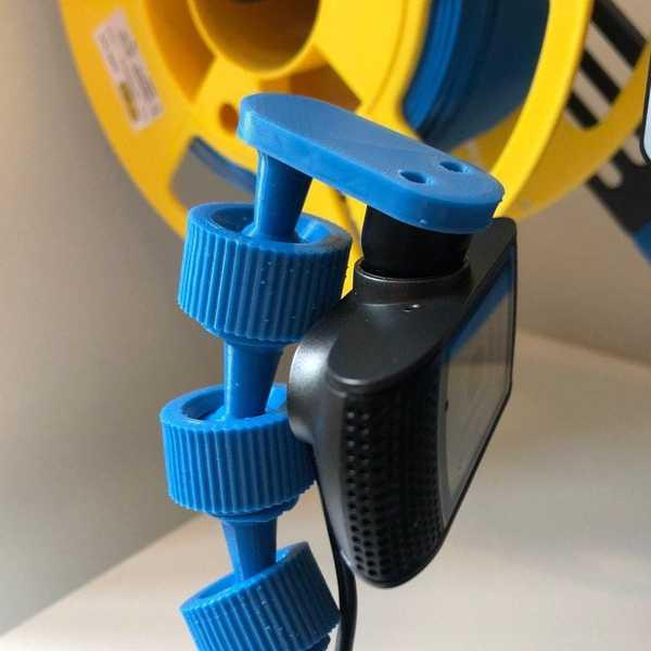 Kamera Montaj Sistemi - Güven Trino 720P Webcam Tutucu Plastik Aparat