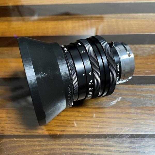50Mm Prime Lens İçin 43Mm Vidalı Lens Hood Plastik Aparat