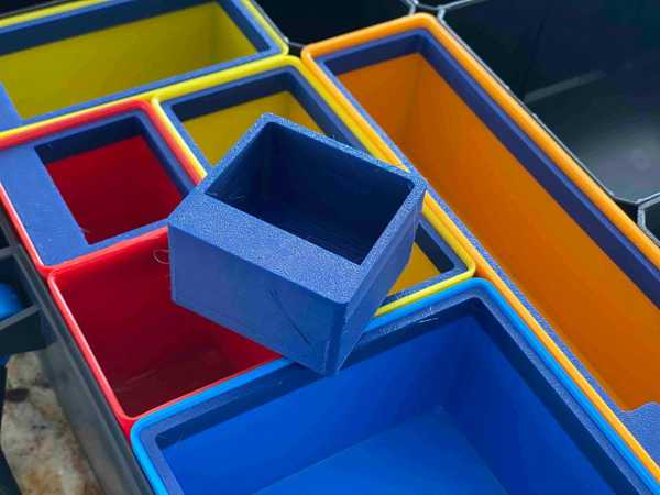 Bosch / Sortimo İ-Boxx 1X1 Bin Bölücü Plastik Aparat