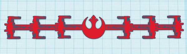 Star Wars Rebel Ear Saver Plastik Aparat