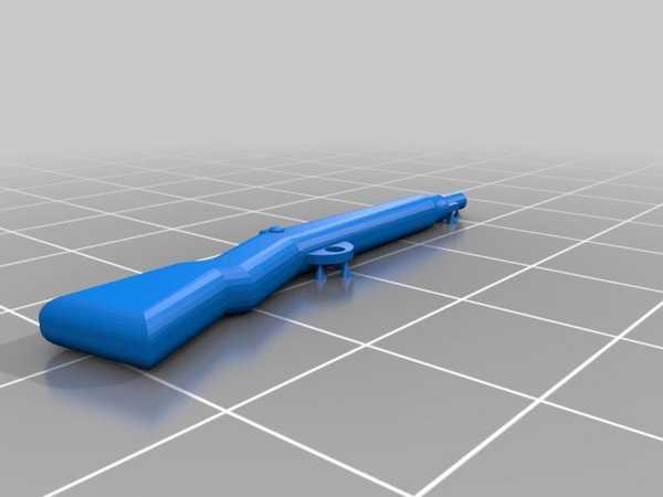 Toptan Lego Uyumlu M1 Garand Plastik Aparat