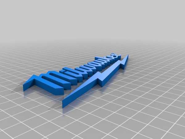 Milwaukee Logosu Plastik Aparat