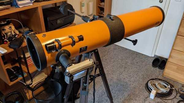 Teleskop 0.965 E Sony E-Dağı Plastik Aparat