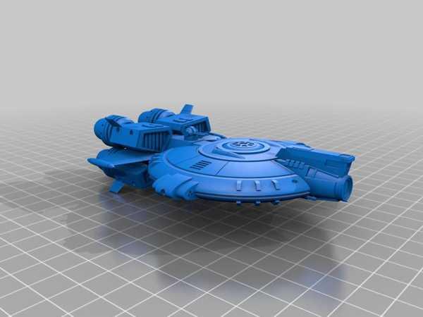 Starfighter Sar-8 Nebulahawk Plastik Aparat