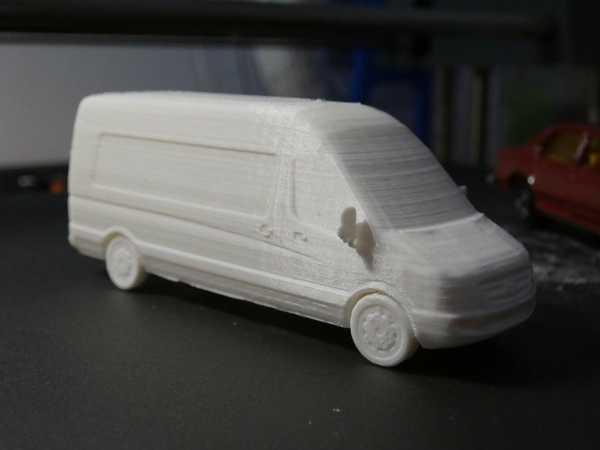 Mercedes Sprinter Van - 1/87 Plastik Aparat