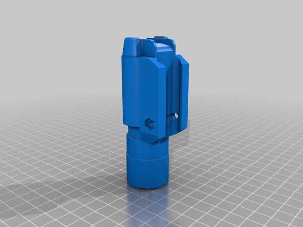 Picatinny Rayı Sığdırmak İçin Kukla Surefire X300U. Plastik Aparat