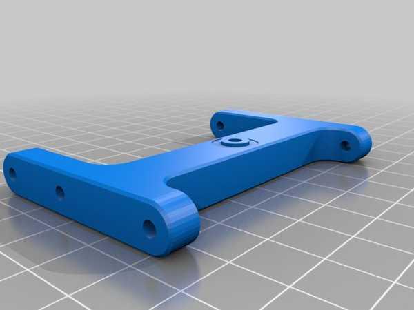 Toptan Trx-4 - Arka Destek - Düşük Cg Pil Tepsisi Plastik Aparat