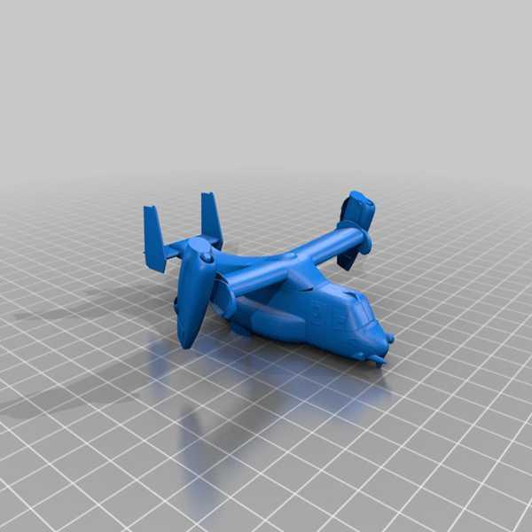 V-22 Osprey Plastik Aparat