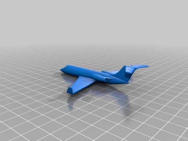 Jet Uçağı Organik Plastikten Oyuncak Biblo Aksesuar Süs Eşyası