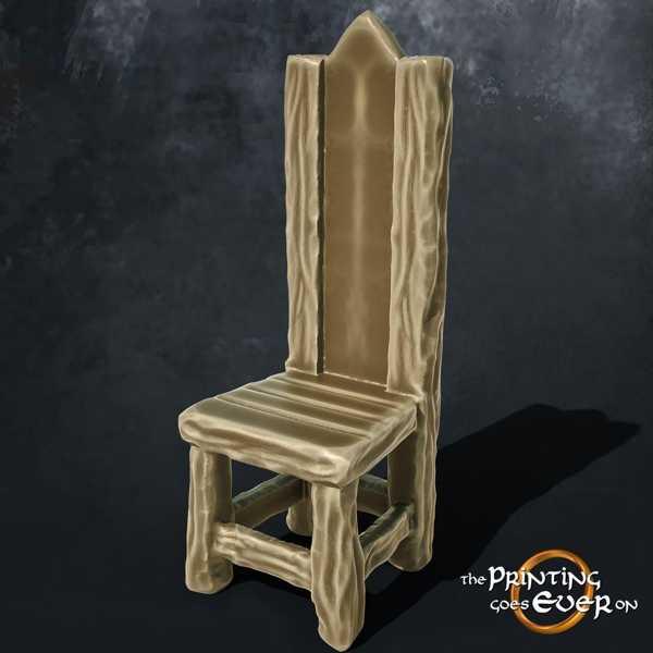 Ortaçağ Sandalye Plastik Aparat