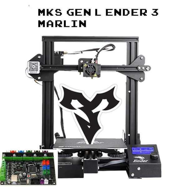 Ender 3 Marlin 2.0 Mks Gen-L Plastik Aparat