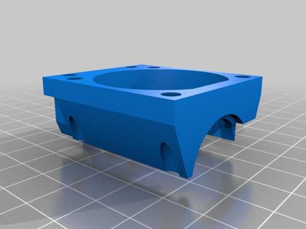 Gimigo A8 İçin Deneysel Hotend Taşıyıcı (Dişlenmemiş Değil) Plastik Aparat