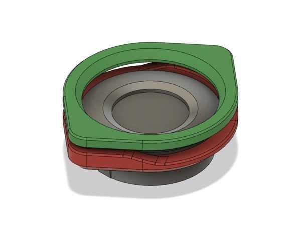 Manyetik Higrometre Plastik Aparat