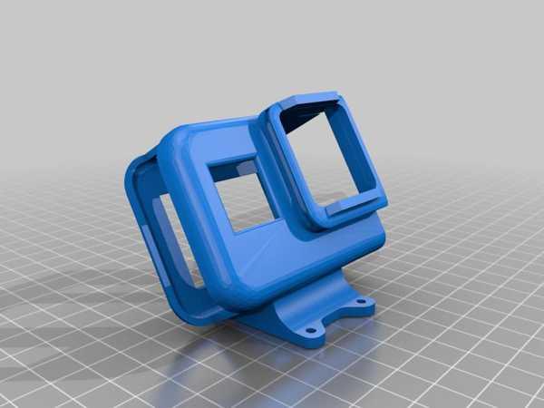 İflight Titan Dc5 Gopro 8 Montaj 30 Derece Plastik Aparat