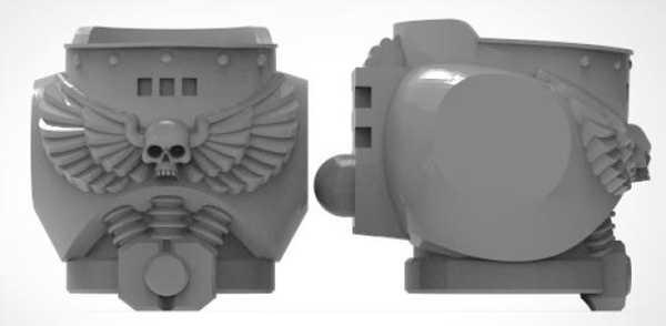 Toptan  Mk8 Hatalı Torso Plastik Aparat