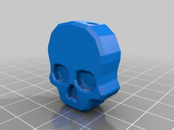 Kafatası Anahtar Kapağı Plastik Aparat