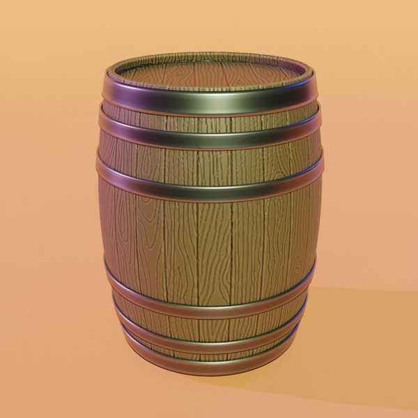 Toptan Ortaçağ Wine Barrel Plastik Aparat