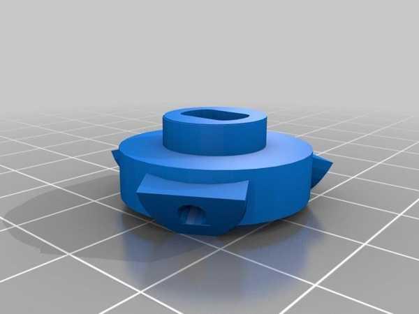Lg Roboking \ Lg Hom-Bot Yuvarlak Fırça Hub Plastik Aparat