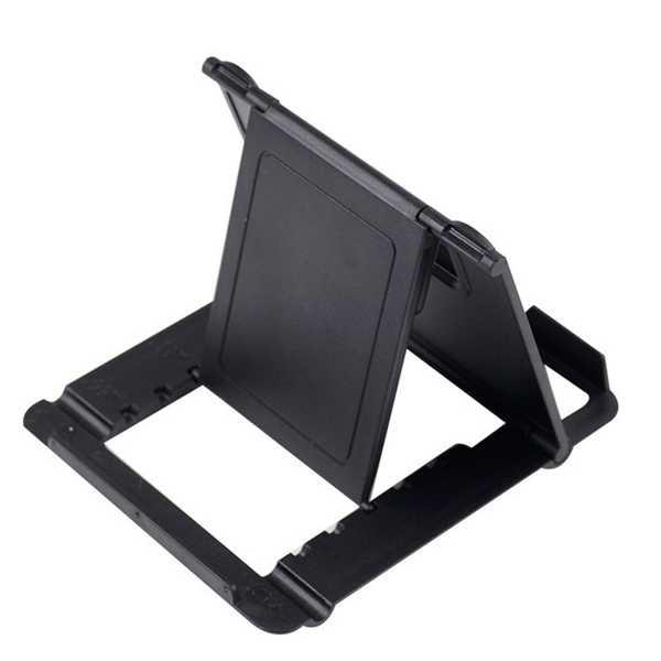 Masaüstü Telefon Stant Tutacağı Mini Plastik Portatif Masa Stand