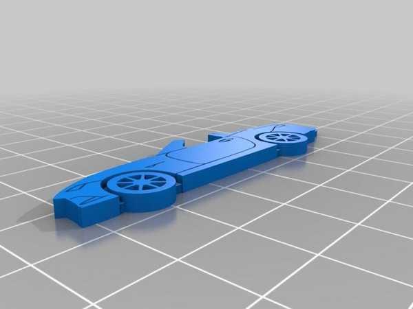 Mazda Mx-5 Nd Organik Plastikten Dekoratif Biblo Anahtarlık