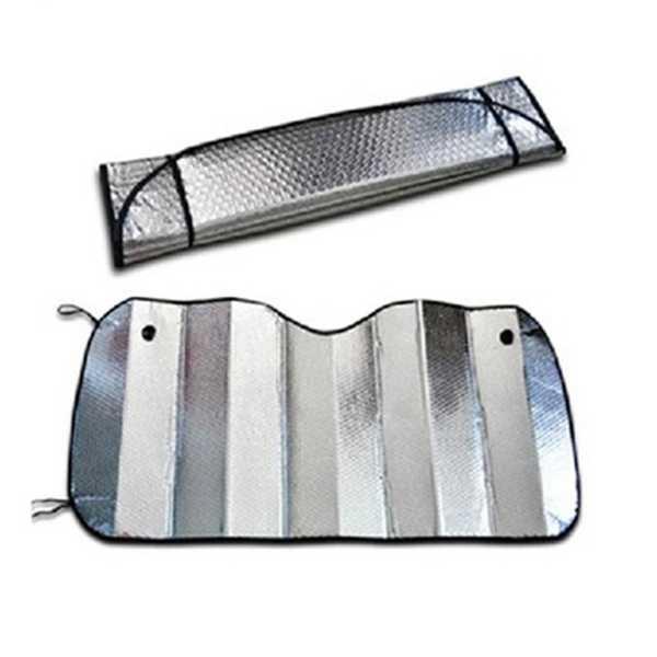 Toptan Araç Cam Güneşlik Balonlu Ön Arka Araba Oto Cam Vantuzlu 130x60