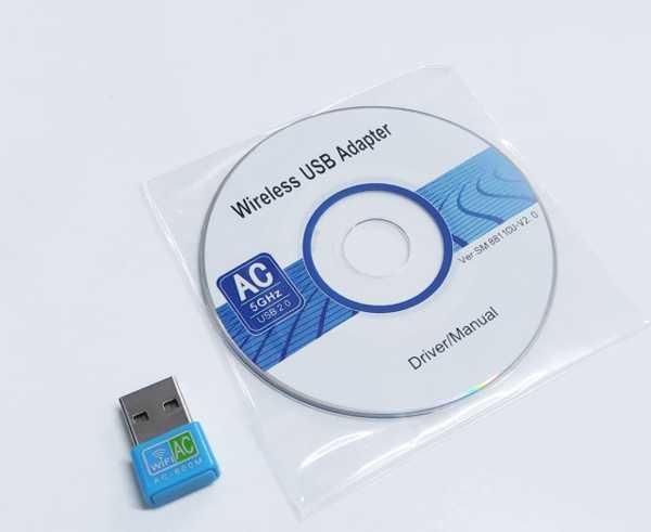 Dual Band USB Adaptör Wifi Adaptör USB 2.0 20 DBM Wifi Bluetooth