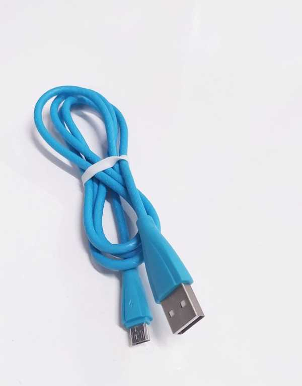 Android Micro USB Şarj Kablosu Yüksek Kaliteli  90 cm Deri Kablo
