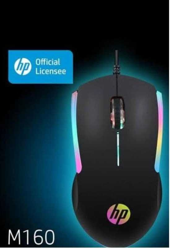 HP MOUSE M160 Gaming Oyuncu Işıklı Mouse 1000 dpı Kablolu Mouse