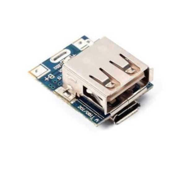 Powerbank Şarj Modülü Lityum 18650 Pil Şarj Cihazı 5v Micro Usb