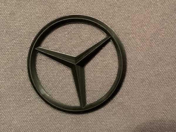 Mercedes Logosu Aksesuar Dekoratif Hediyelik Bardak Altlığı