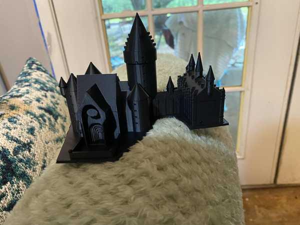 Hogwarts Biblo Dekoratif Hediyelik Süs Eşyası Maket Aksesuar
