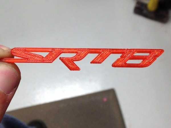 Srt 8 Logo Anahtarlık Plastik Aparat