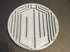 Doctor Who Logo Coaster  Organik Plastikten Dekoratif Aksesuar