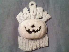 Happy Halloween Pendant Gift Accessory Ornament
